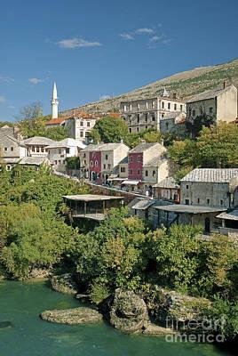 Mostar In Bosnia Herzegovina Art Print