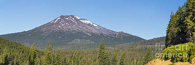 Sunriver Photograph - Mount Bachelor by Twenty Two North Photography