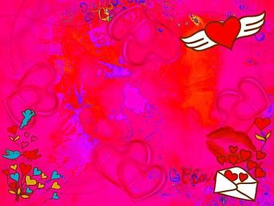 Etc. Digital Art - My Heart by HollyWood Creation By linda zanini