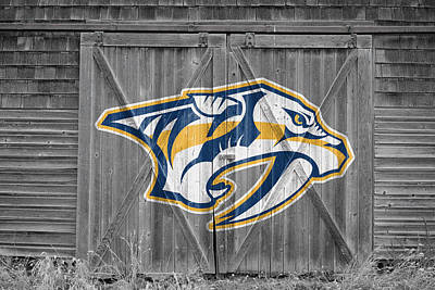 Photograph - Nashville Predators by Joe Hamilton