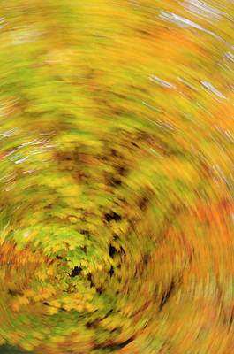 Abstract Movement Photograph - Nature And Places Of Spain by Marcos Veiga
