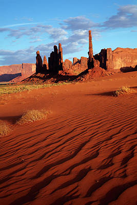 Tumbleweed Photograph - Navajo Nation, Monument Valley, Yei Bi by David Wall