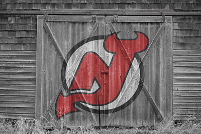Photograph - New Jersey Devils by Joe Hamilton