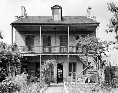 Photograph - New Orleans House by Granger