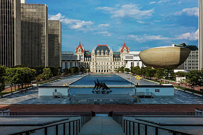 State Capitol Photograph - New York, Albany, New York State Capitol by Panoramic Images