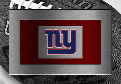 New York Giants Art Print by Joe Hamilton