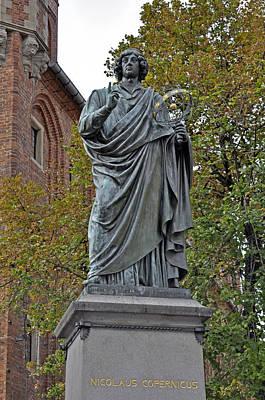 Nicolaus Copernicus. Print by Fernando Barozza