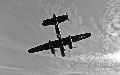 North American B-25g Mitchell Bomber Art Print by Scott Germain