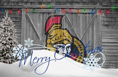 Ottawa Wall Art - Photograph - Ottawa Senators by Joe Hamilton