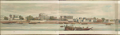 Panorama Of The City Of Dacca Art Print