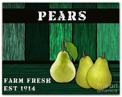 Pear Mixed Media - Pear Farm by Marvin Blaine