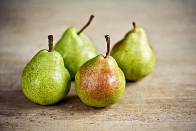 Juicy Photograph - Pears by Nailia Schwarz