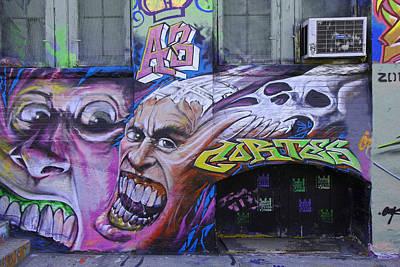 Photograph - 5 Pointz Graffiti Art 8 by Allen Beatty
