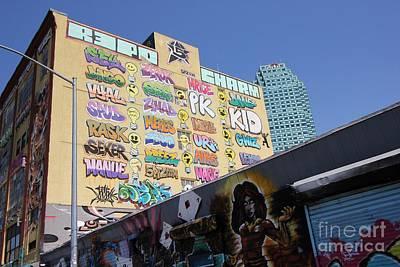 5 Pointz Graffiti Art 2 Art Print