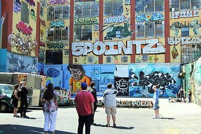 Photograph - 5 Pointz Graffiti Art 3 by Allen Beatty