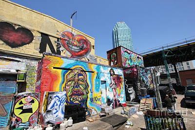 Photograph - 5 Pointz Graffiti Art 4 by Allen Beatty