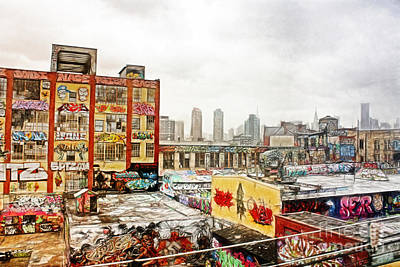 Spraypaint Photograph - 5 Pointz In Itz Prime by Nishanth Gopinathan