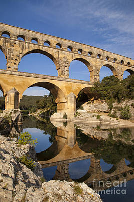 Pont Du Gard Art Print by Brian Jannsen