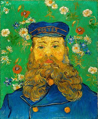 Painting - Portrait Of Joseph Roulin  by Vincent Van Gogh