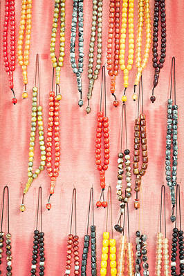 Religious Charm Photograph - Prayer Beads by Tom Gowanlock