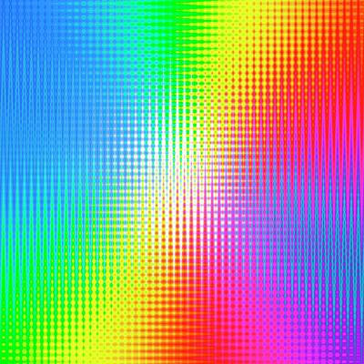 Prismatic Pattern Art Print