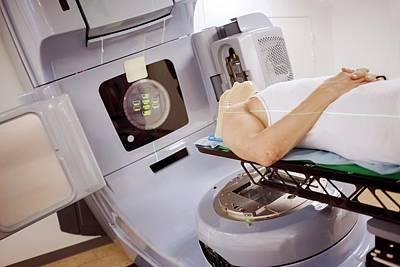 Radiotherapy Treatment Art Print by Thomas Fredberg