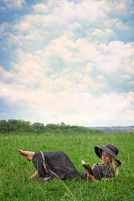 Thoughtful Photograph - Reading by Joana Kruse