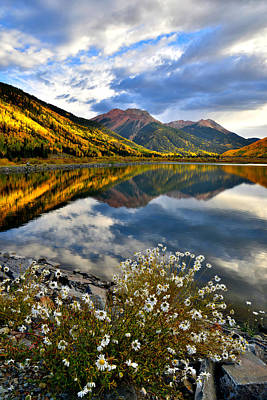 Photograph - Red Mountain Reflection by Ray Mathis