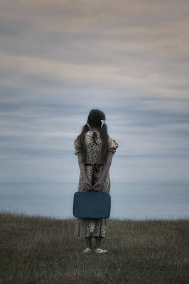 Refugee Photograph - Refugee Girl by Joana Kruse