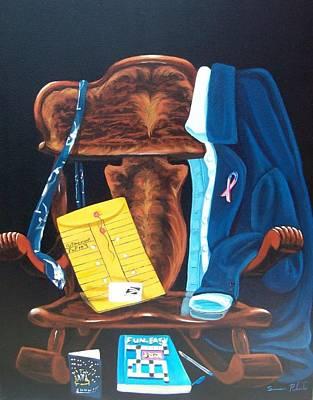 Retiring Postal Worker Art Print