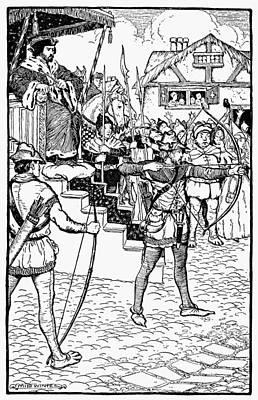 Robin Hood Art Print by Granger