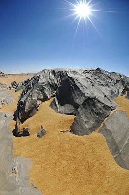 Rock Formations, Egypt's White Desert Art Print by Science Photo Library