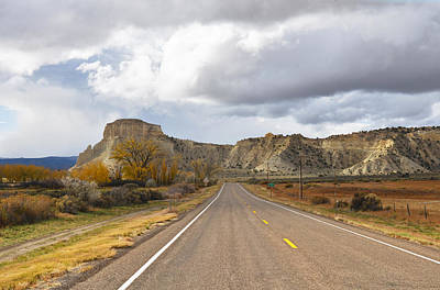 Photograph - Route 12 - Utah by Dana Sohr