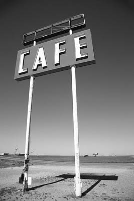 Photograph - Route 66 Cafe by Frank Romeo