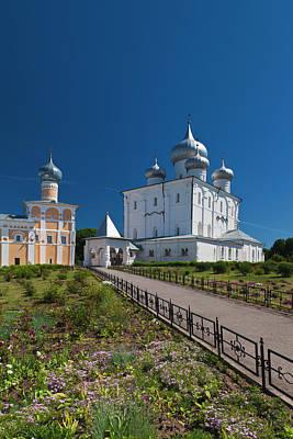 Eastern Orthodox Wall Art - Photograph - Russia, Novgorod Oblast, Veliky by Walter Bibikow