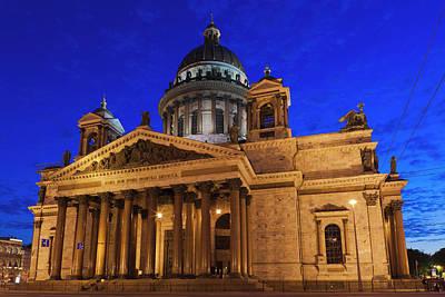 Russia, Saint Petersburg, Center, Saint Art Print