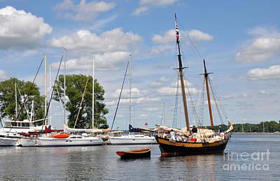 Photograph - Sackets Harbor by Gina Savage