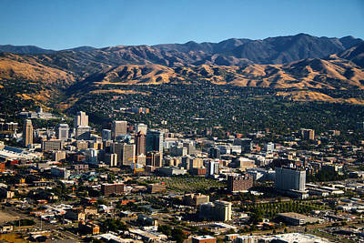 Photograph - Salt Lake City Utah by Utah Images
