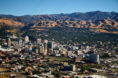 Photograph - Salt Lake City Utah by Douglas Pulsipher