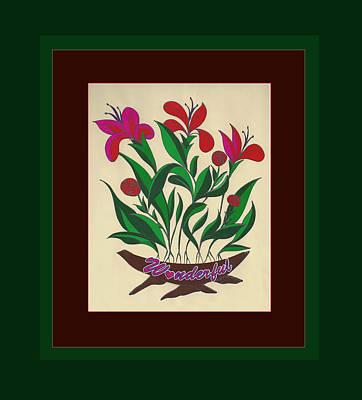Painting - Sample 2 by Joe Greenidge