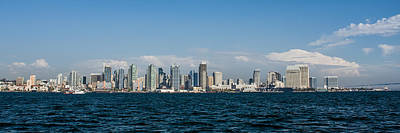 Panoramic Of San Diego Photograph - San Diego Bay Series by Josh Whalen