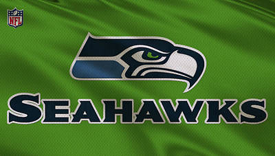 Seattle Photograph - Seattle Seahawks Uniform by Joe Hamilton