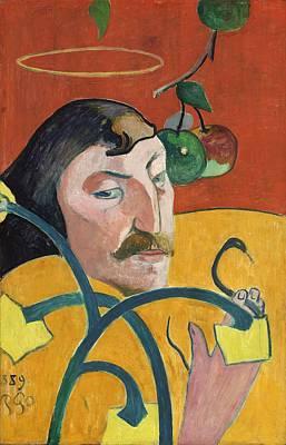Painting - Self Portrait by Paul Gauguin