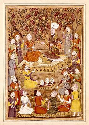 Safavid Photograph - Shahnameh. The Book Of Kings. 16th C by Everett