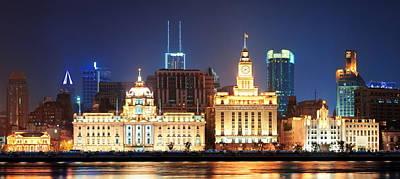 Shanghai Historic Architecture Art Print
