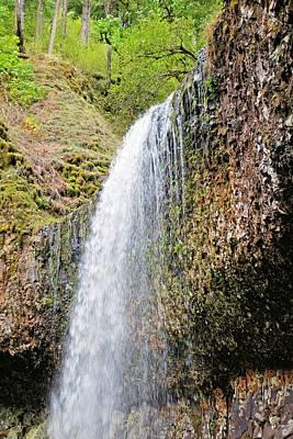 Photograph - Silver Falls by Jane Girardot