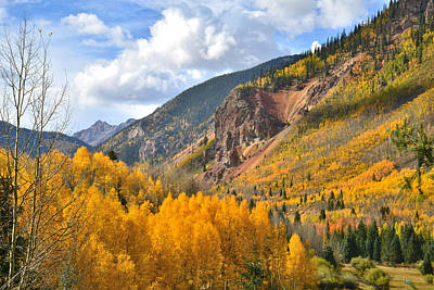 Photograph - Silverton Fall Colors by Ray Mathis