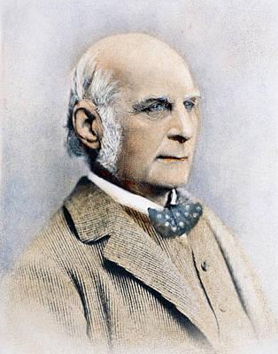 Francis Galton Photograph - Sir Francis Galton (1822-1911) by Granger