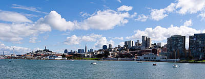 Marina Park Photograph - Skyscrapers At The Waterfront by Panoramic Images