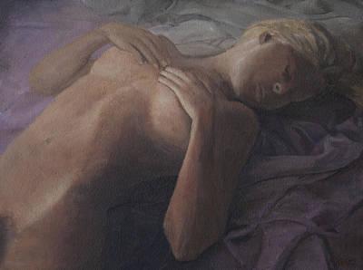 Painting - Sleeping Beauty by Masami Iida